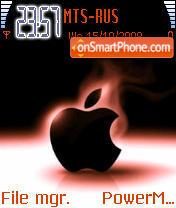 The Iphone theme screenshot