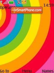 Rainbow 02 theme screenshot