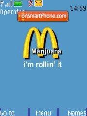 McDonalds Rollin It es el tema de pantalla