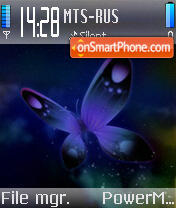 Butterfly 137 theme screenshot