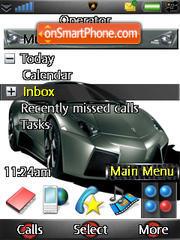 Lamborghini Revengton theme screenshot
