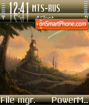 InTheDark theme screenshot
