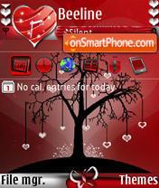 Love Tree s60v3 es el tema de pantalla