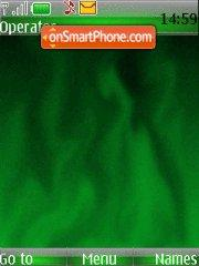 Green Flame theme screenshot