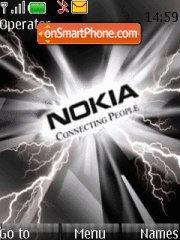 Black Nokia Thunder es el tema de pantalla
