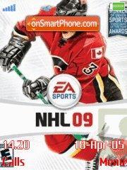 Nhl 09 V1 es el tema de pantalla