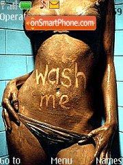 Wash Me es el tema de pantalla