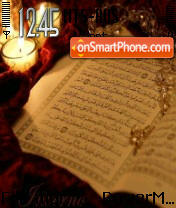 Quran theme screenshot