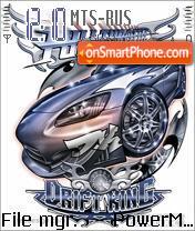 Drift King es el tema de pantalla