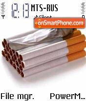 Cigarette Stop es el tema de pantalla
