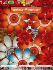 Flower Colours es el tema de pantalla