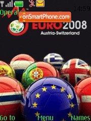 Euro 2008 Uefa theme screenshot