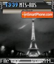 Efel Tower es el tema de pantalla