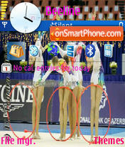 Sport Rhythmic es el tema de pantalla