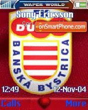 FK Dukla Banska Bystrica theme screenshot