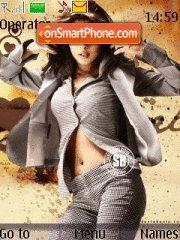 Priyanka Chopra 02 theme screenshot