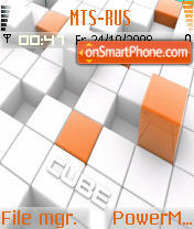 Cube 02 theme screenshot