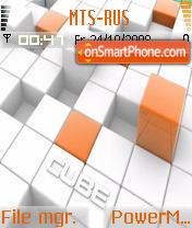 Cube 02 theme screenshot