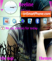 V Stile Emo theme screenshot