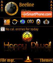 Diwali 08 s60v3 es el tema de pantalla