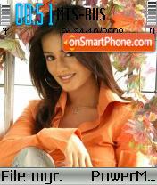 Amrita Rao 05 theme screenshot