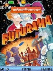 Futurama theme screenshot