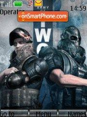 Army of two es el tema de pantalla