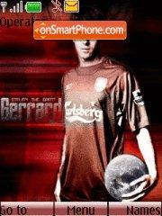 Steven Gerrard theme screenshot