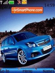 Opel Zafira theme screenshot