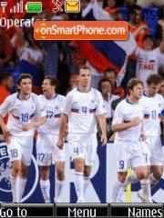 Russia national football Team theme screenshot