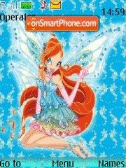 Winx club Bloom theme screenshot