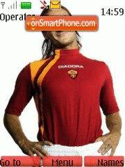 Francesco Totti theme screenshot