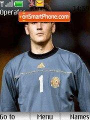 Iker Casillas theme screenshot