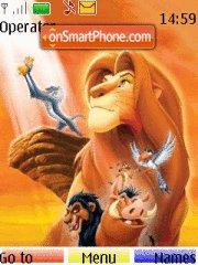 The Lion King theme screenshot