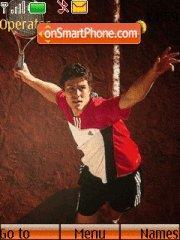 Tennis theme screenshot