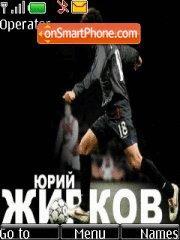 Juri Zhirkov theme screenshot
