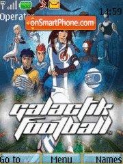 Galactik Football es el tema de pantalla