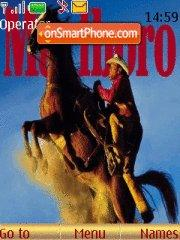 Marlboro theme screenshot