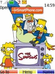 The Simpsons es el tema de pantalla