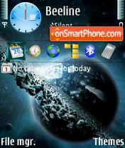 Space 05 theme screenshot