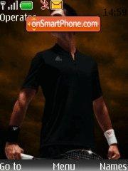 Novak Djokovic theme screenshot