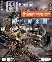 Pirate Skoodo es el tema de pantalla