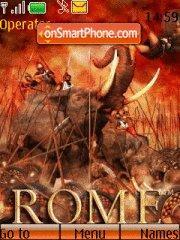 Rome Total War theme screenshot