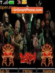 Lordi theme screenshot