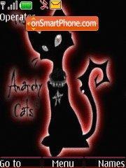 Black Angry Cat es el tema de pantalla