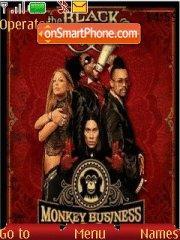 The Black Eyed Peas tema screenshot