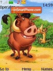 Timon & Pumba es el tema de pantalla