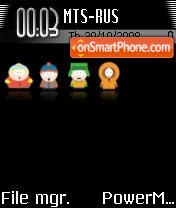 Southpark 03 theme screenshot