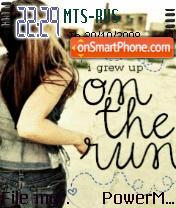 Emo Run theme screenshot