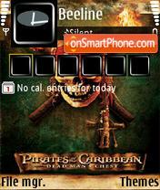 Pirates of the Caribbean 05 es el tema de pantalla